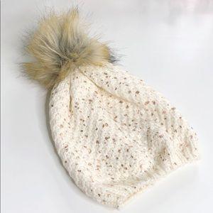 Pom Pom Knit Beanie